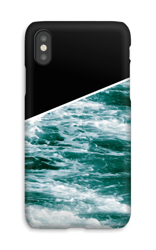 Black Water case IPhone X