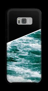 Zwart water hoesje Galaxy S8 Plus