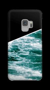 Zwart water hoesje Galaxy S9