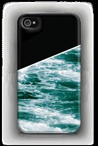 Zwart water hoesje IPhone 4/4s