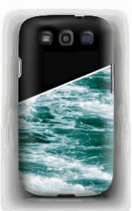 Zwart water hoesje Galaxy S3
