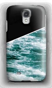 Zwart water hoesje Galaxy S4