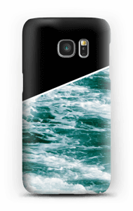 Zwart water hoesje Galaxy S7