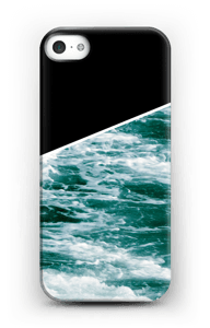 Zwart water hoesje IPhone SE