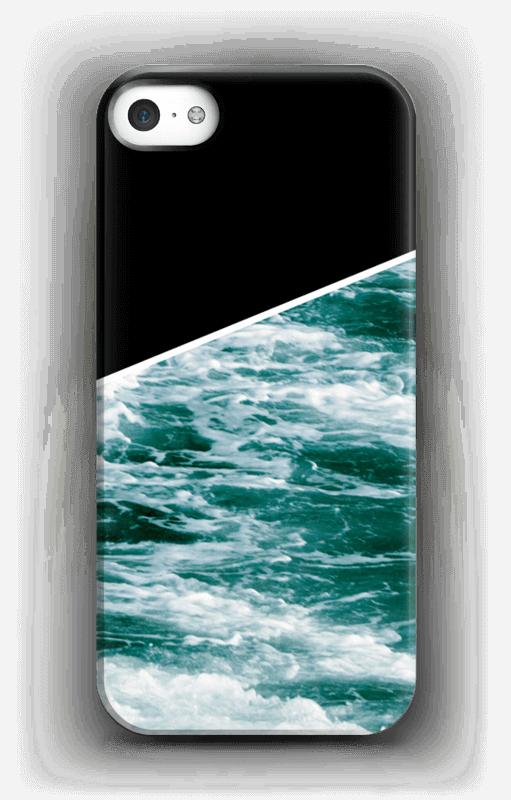 Zwart water hoesje IPhone SE