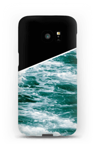 Zwart water hoesje Galaxy S7 Edge