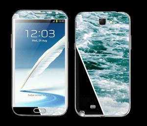 Black Water Skin Galaxy Note 2