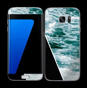 Black Water Skin Galaxy S7 Edge