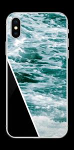 Svart vatten Skin IPhone X