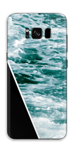 Black Water Skin Galaxy S8