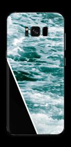 Black Water Skin Galaxy S8 Plus