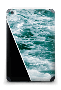 Black Water Skin IPad mini 2 back