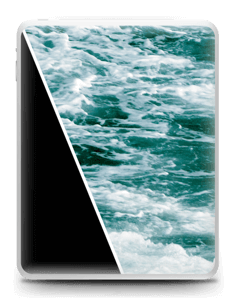 Black Water Skin IPad 1