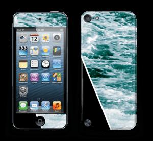 Musta meri tarrakuori IPod Touch 5th Gen