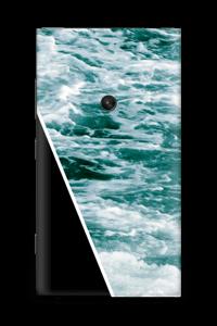 Black Water Skin Nokia Lumia 920