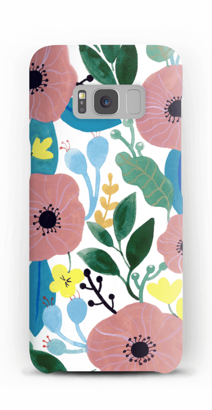 Kukkaunelma kuoret Galaxy S8