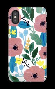 Kukkaunelma kuoret IPhone X tough