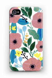 Kukkaunelma kuoret IPhone 4/4s
