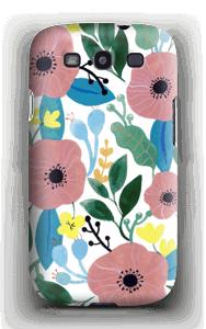 Kukkaunelma kuoret Galaxy S3
