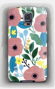 Kukkaunelma kuoret Galaxy S5
