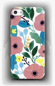 Kukkaunelma kuoret IPhone SE