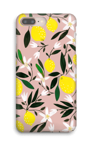 Sitruunat kuoret IPhone 8 Plus
