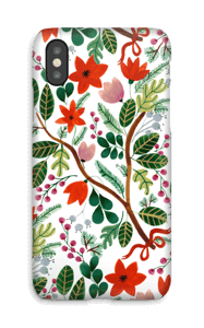 Christmas Floral case IPhone X