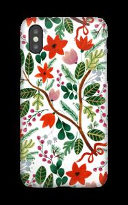 Juleblomster deksel IPhone X