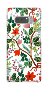 Juleblomster deksel Galaxy Note8