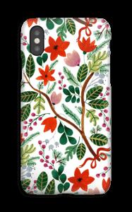 Juleblomster deksel IPhone XS