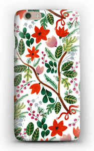 Christmas floral case IPhone 6