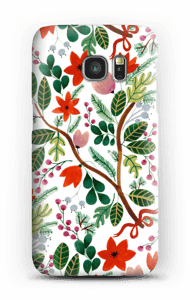 Christmas floral case Galaxy S7