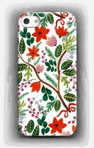 Christmas floral case IPhone SE