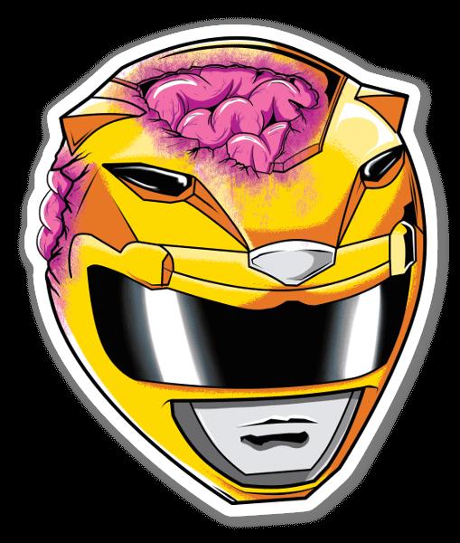 Yellow Ranger  sticker
