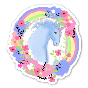 Unicorno sticker