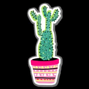cactus plant 1  sticker