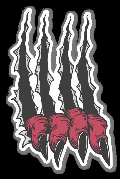 Scratch sticker