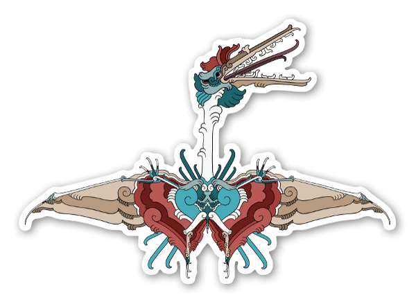 Quetzalcoatlus sticker