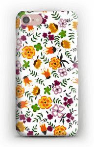 Summer flowers case IPhone 7