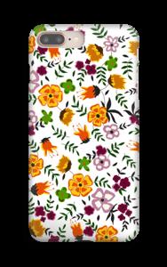 Syksyn kukat kuoret IPhone 8 Plus