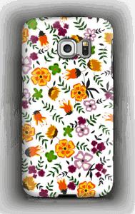 Syksyn kukat kuoret Galaxy S6 Edge