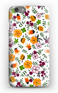 Farverige blomster cover IPhone 6s