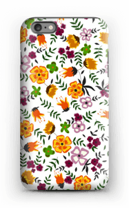Farverige blomster cover IPhone 6 Plus tough