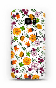 Summer flowers case Galaxy S7 Edge