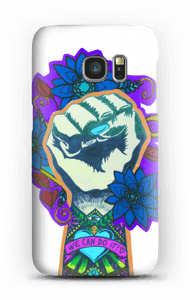 We can do it - Blau Handyhülle Galaxy S7