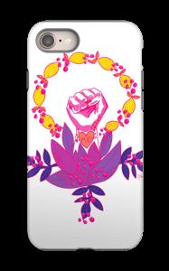 Feminist art case IPhone 8 tough
