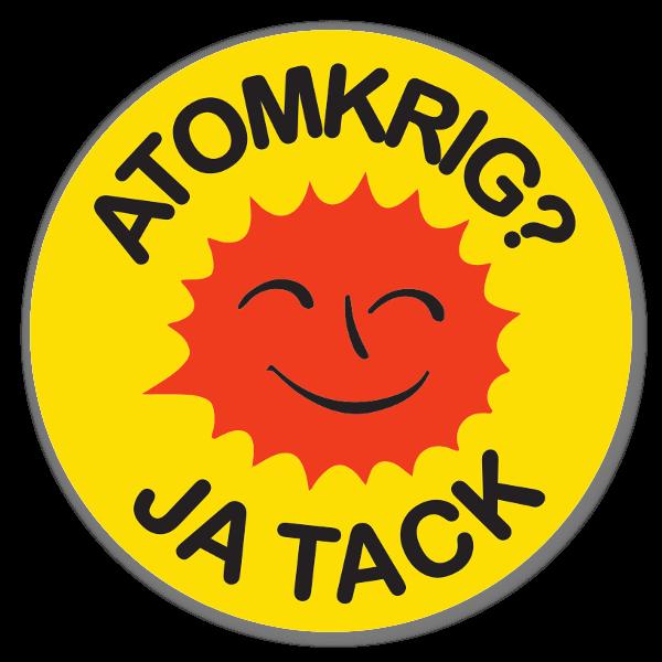 Guerra atomica? si grazie sticker