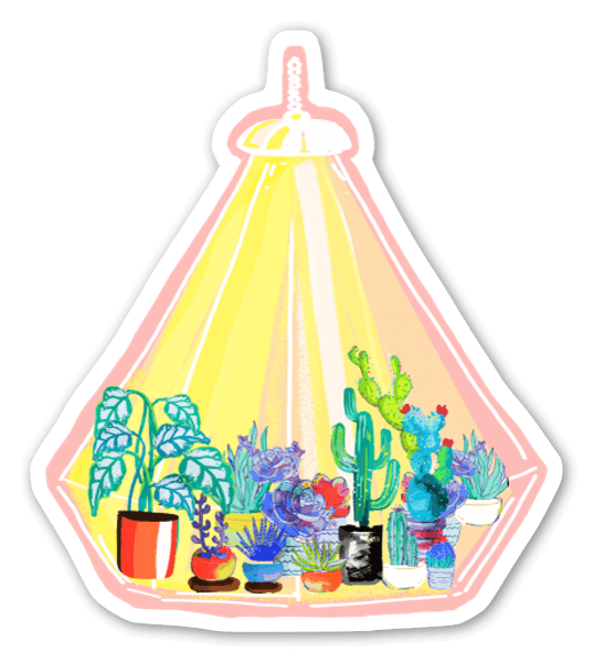 Let it Grow (Solo )  sticker