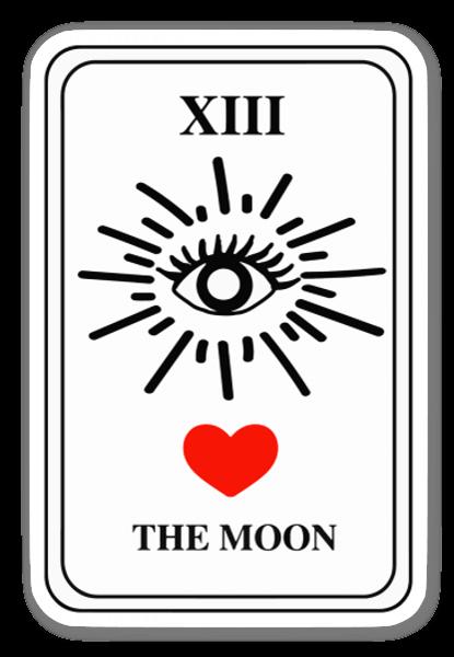Tarot Card sticker