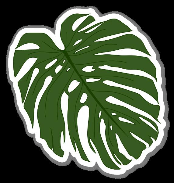 Palmlöv sticker